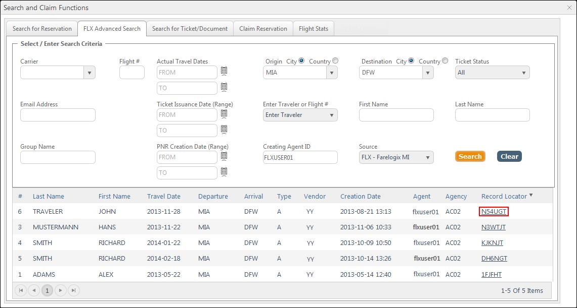 a8b0eca3a9e SPRK Reference Guide > The SPRK Reservation Screen > Retrieve PNRs ...